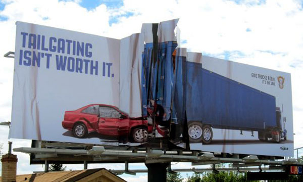 colorado-state-patrol-crashed-car-creative-billboard