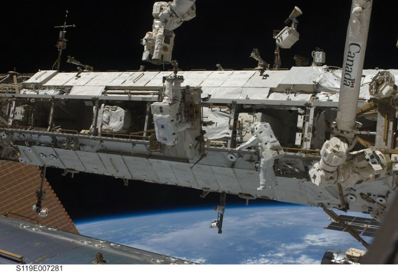 NASA's Tim Kopra! You're going on a Spacewalk!