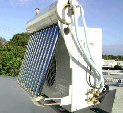 Solar hybrid inverter air conditioning