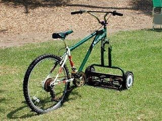 bicycle mower