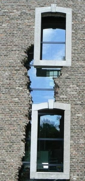 dutch cracked window