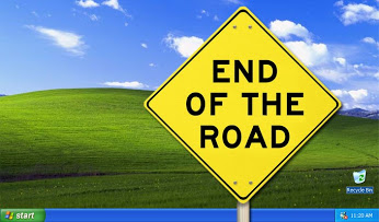end of the road for windows xp