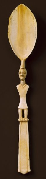 ivory coast spoon made of ivory