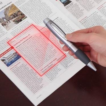 laser scanning pen