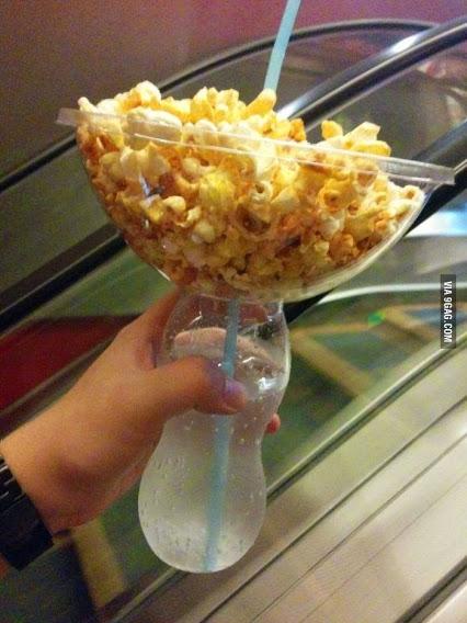 popcorn plus drink