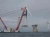 Pictures Wind - Turbine installation in the sea wind farms