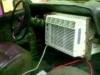 airconditioned car