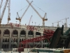 crashed makka crane