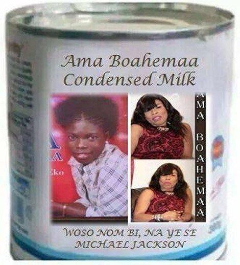 ama boahemaa condensed milk