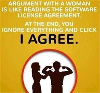 argument wt a woman