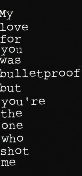 bulletproofed love