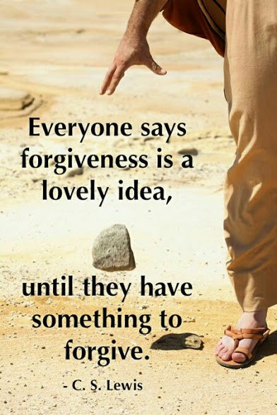 cs lewis on forgiveness