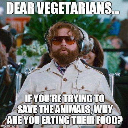 dear vegetarian