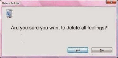 delete all feelings