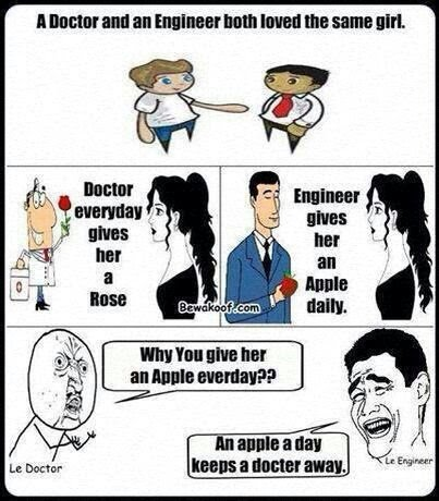 doctor and engineer in love