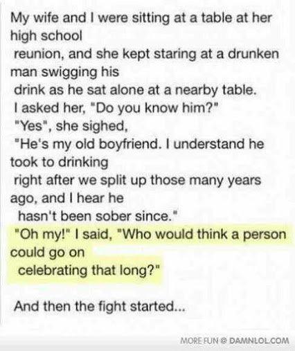 drunken boyfriend