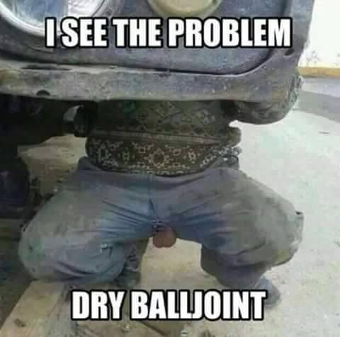 dry balljoint