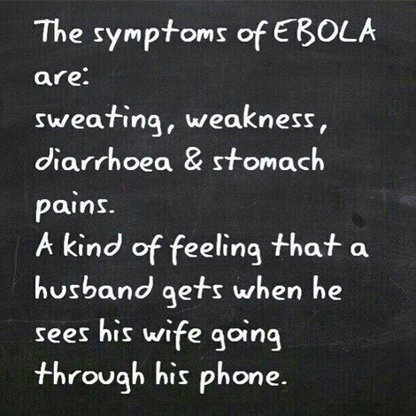 ebola and cheating