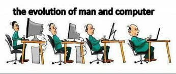 evolution of man and computer