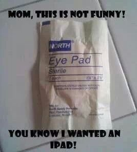 eyepad or ipad