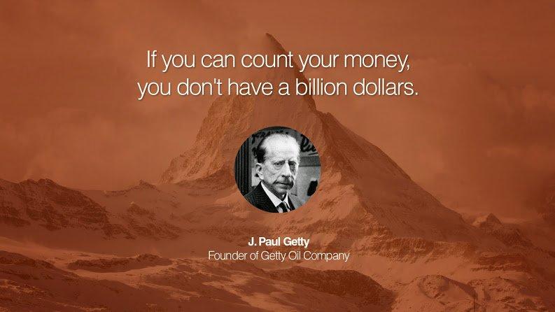 getty on billionaires