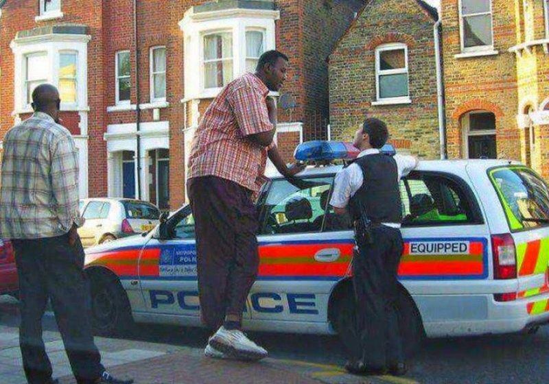 giant black wt police