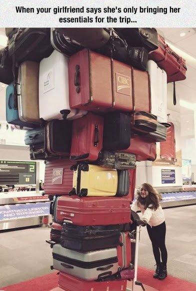 girlfrind baggage