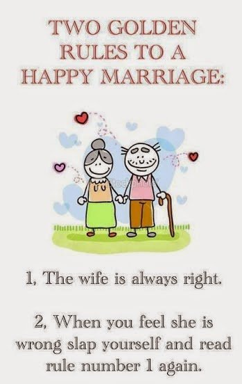 golden rule to happy marriage