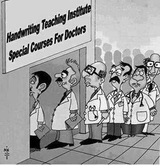 handwriting for doctors