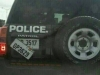 ghana police two number plates