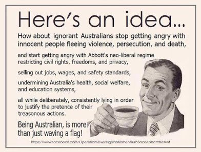 advice to ignorant aussie