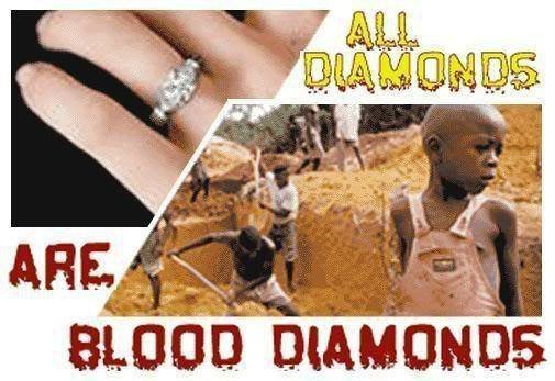 all diamonds are blood diamond