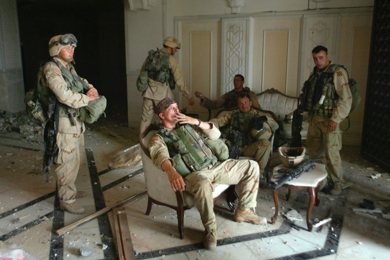 american occupying troops in iraq