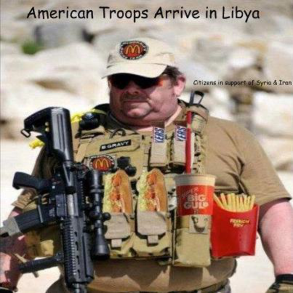 american troop in libya