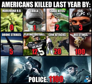 americans killed last year