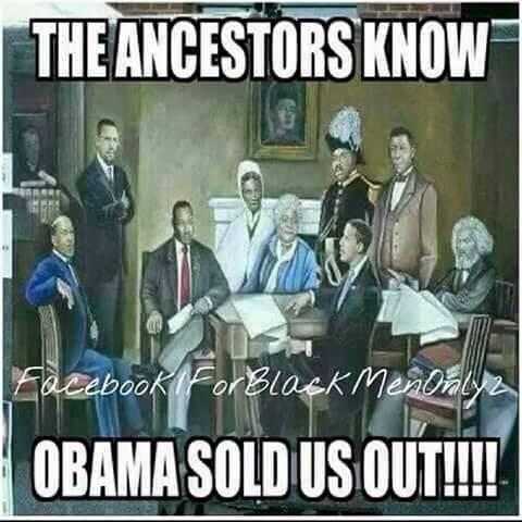 ancestors condemn obama
