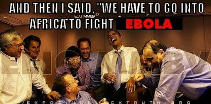 and we go to africa to fight ebola