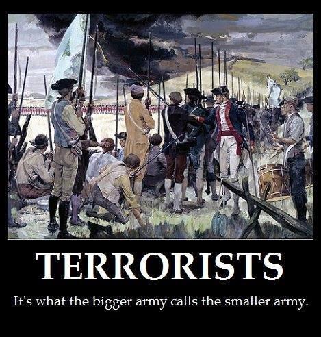 army versus terrorist
