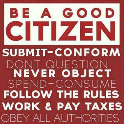 be a good citizen