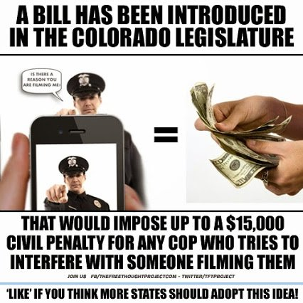 bill to stop police harassmnet in colorado