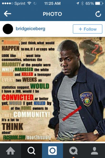 black cop wonders