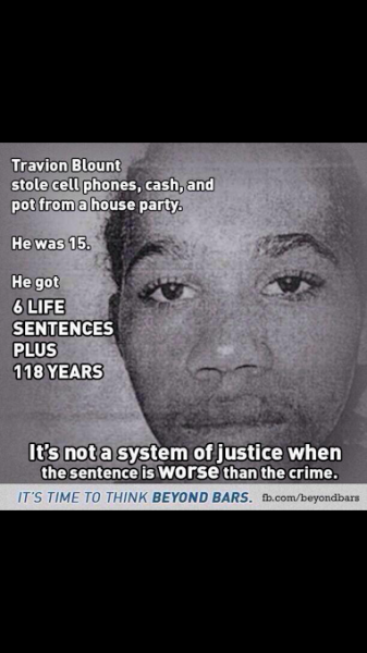 black you got 6 life sentences