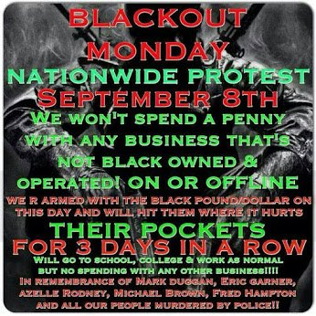 blackout monday