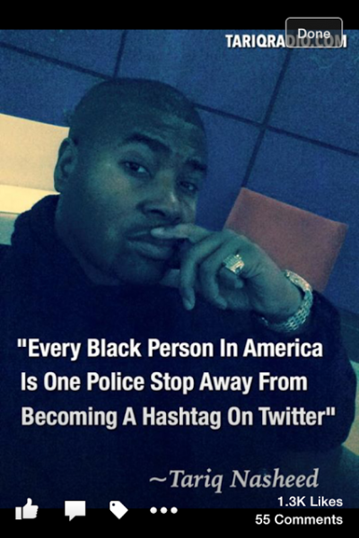 blackperson is one police stop away from becoming hashtag