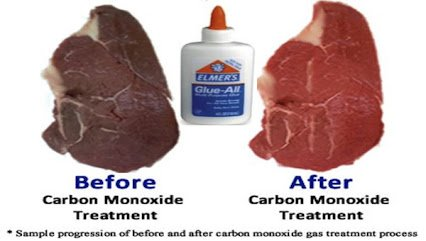 carbon monoxide in ur meat