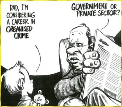 career in organised crime