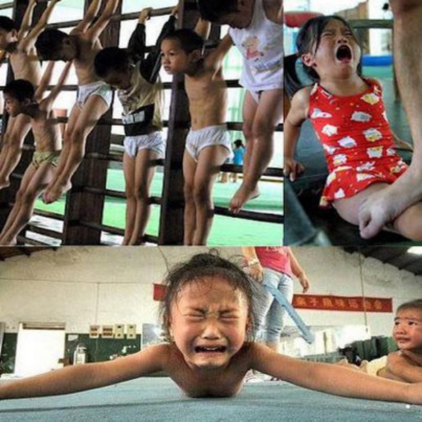 china tortured children for olympic gold