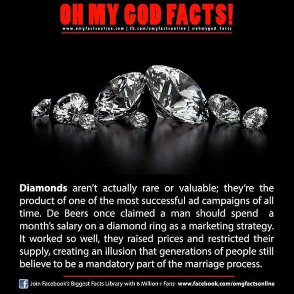 de beers created image for diamond