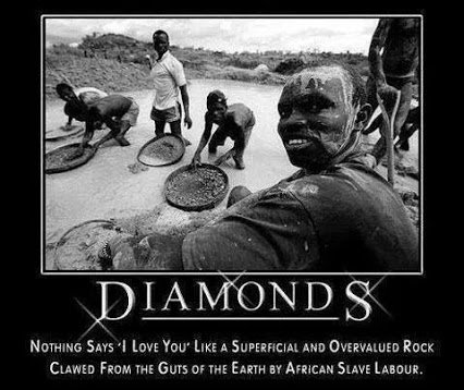 diamond is but a rock