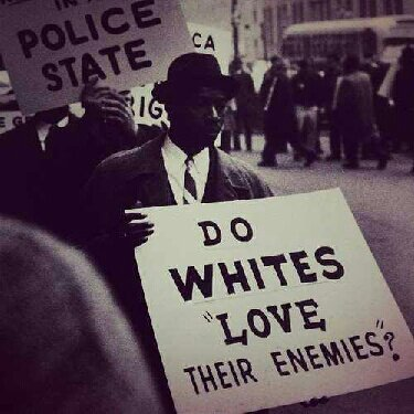 do white love their enemies